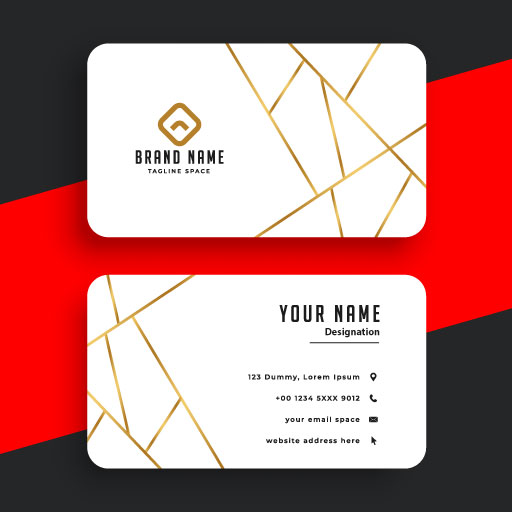 TWO SIDED SAMPLE BUSINESS CARD