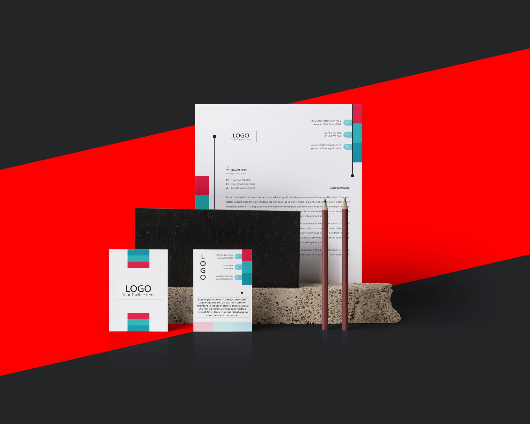 STATIONERY DESIGN BRANDING