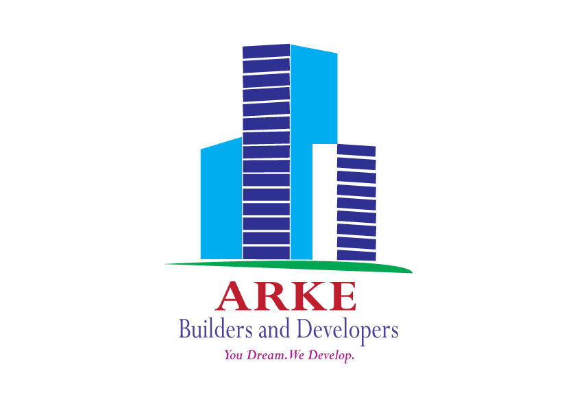 ARKE BUILDERS AND DEVELOPERS GRAPHIC LOGO DESIGN