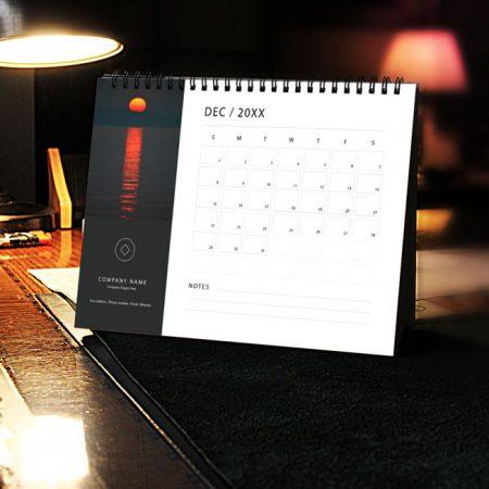 SAMPLE COPORATE DESK/TABLE CALENDAR DESIGN
