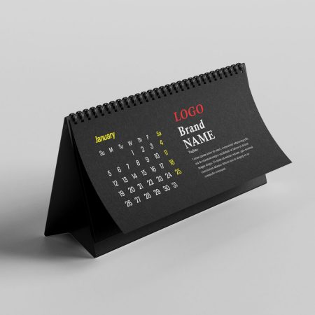SAMPLE DESK CALENDAR DESIGN.
