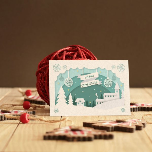 SAMPLE CHRISTMAS CARD DESIGN