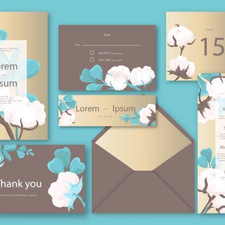CASUAL WEDDING CARD - SAMPLE CARD DESIGN.