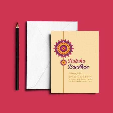 SAMPLE GREETING CARD - RAKSHA BANDHAN