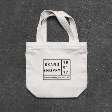 SAMPLE TOTE BAG PACKAGE DESIGN.